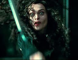 Bellatrix pisau Throwing in Deathly Hallows