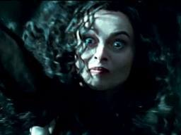 Bellatrix 칼, 나이프 Throwing in Deathly Hallows
