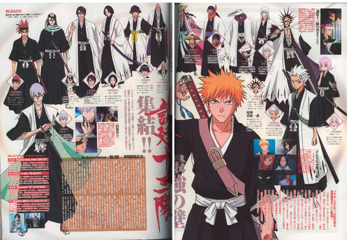 Bleach scan