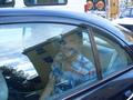 Brandon in the car