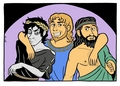 Brothers - greek-mythology fan art