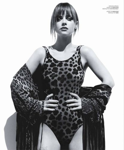 Christina Ricci in the October 2010 Issue of Black Book Magazine