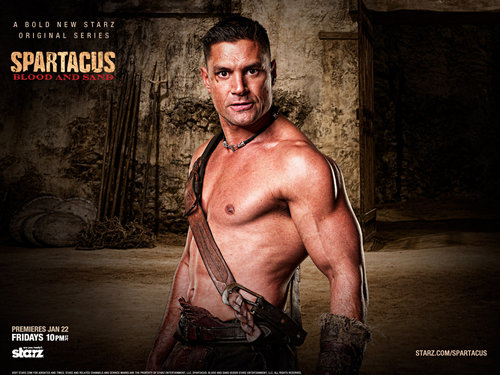Spartacus: Blood & Sand wallpaper containing a hunk titled Crixus