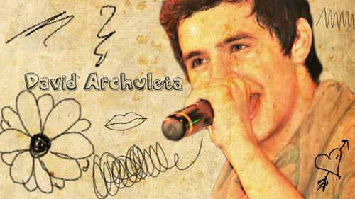 David Archuleta on paper