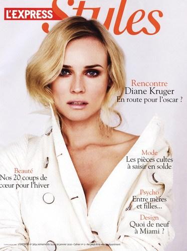 Diane Kruger - L'Express (January 2010)