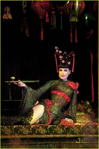 Dita Von Teese: 'Opium Den' at Erotica 2010