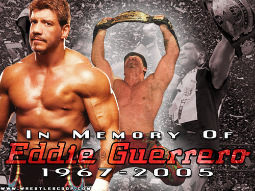 Professional Wrestling wallpaper probably containing a hunk entitled Eddie Guerrero