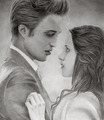 Edward and Bella - fan art