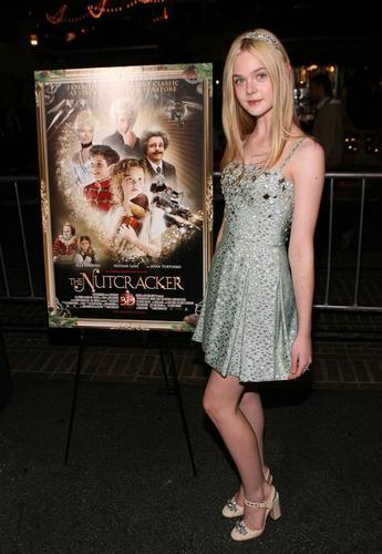 Elle Fanning at The Nutcracker 3D premiere