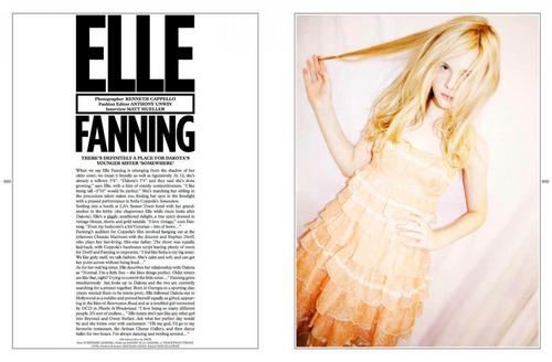 Elle Fanning in Wonderland Magazine - elle-fanning Photo