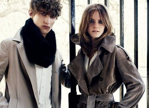 Emma Watson - Burberry shoot #1: Autumn/Winter 2009