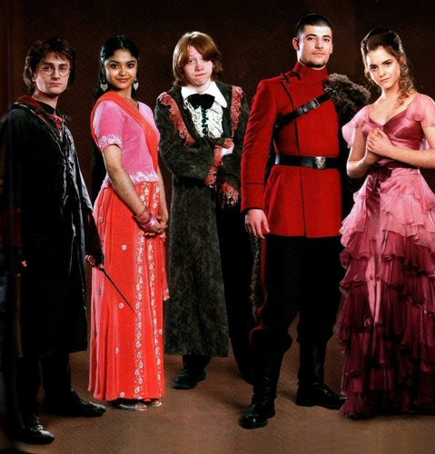Emma Watson - Harry Potter and the Globet of 火災, 火 promoshoot (2005)