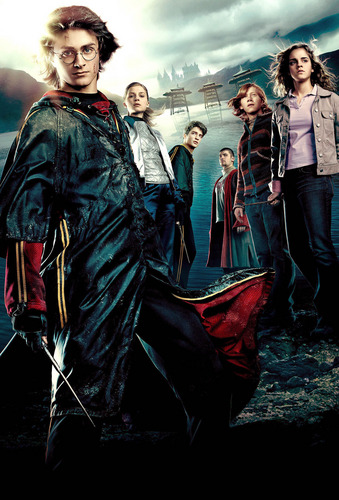 Emma Watson - Harry Potter and the Globet of moto promoshoot (2005)