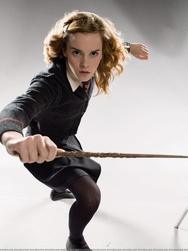 Emma Watson - Harry Potter and the Order of the Phoenix promoshoot (2007)