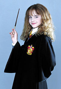 Emma Watson - Harry Potter and the Philosopher's Stone promoshoot (2001)