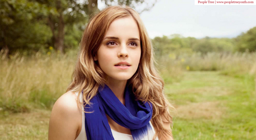 Emma Watson - People درخت shoot #2: Spring/Summer 2010