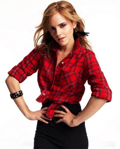 Emma Watson - People cây shoot #3: Autumn/Winter 2010