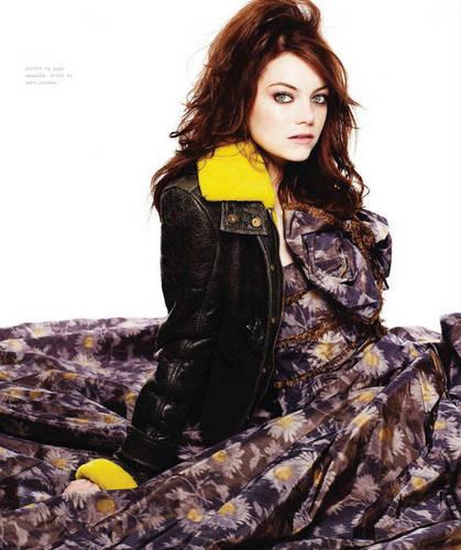 Emma in Nylon Magazine - October 2010