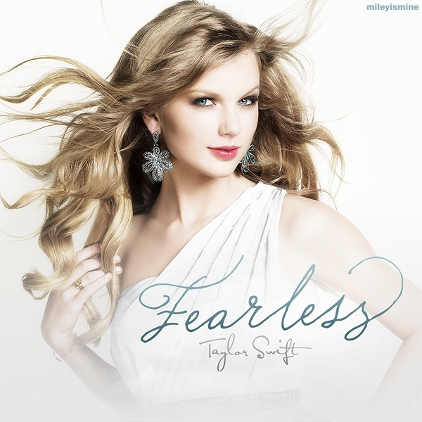 taylor swift cd cover fearless