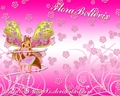 winx-club-flora - Flora Believix Background. wallpaper
