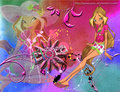 Flora Believix Background. - winx-club-flora photo