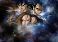孫 悟空 and Vegeta