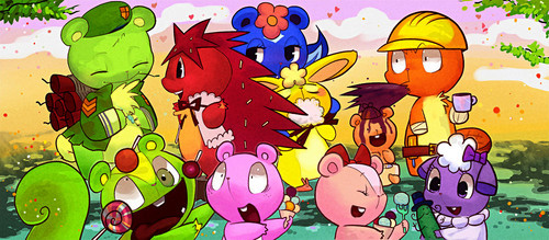 HAPPY TREE FRIENDS - happy-tree-friends Photo