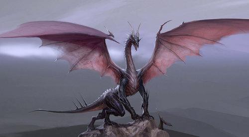 High dragon Concept Art