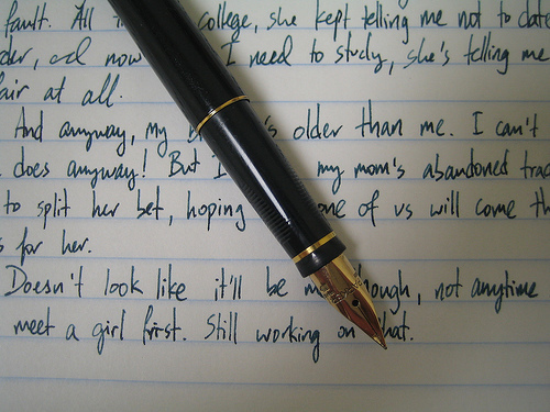 I ♥ Writing - writing Photo