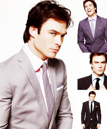 Ian Somerhalder : Suiting Up!