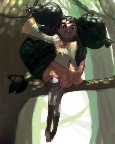 Iris Фан-арт