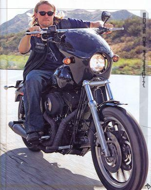 "Jackson ""JAX"" Teller Обои containing a motorcycle cop entitled JAX"