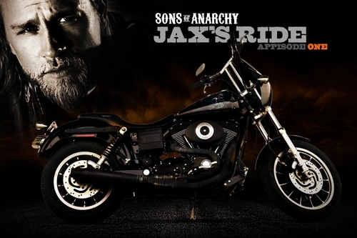 "Jackson ""JAX"" Teller wallpaper possibly with a motorcycle cop, a motorcycle, and a motociclismo called JAX's Bike"