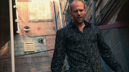 Jason Statham wallpaper possibly containing a well dressed person, an outerwear, and a shirtwaist entitled Jason in Crank