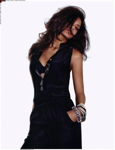 Jessica in Giant Magazine - Winter 2010
