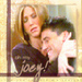 Joey Tribbiani and Rachel Green