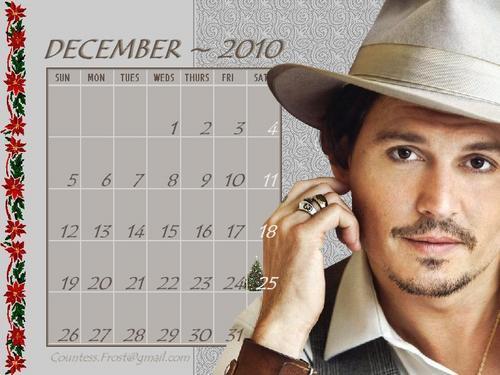 Johnny - December 2010 (calendar)
