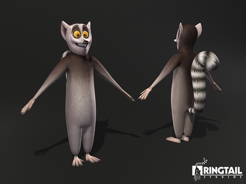 King Julien Anatomy