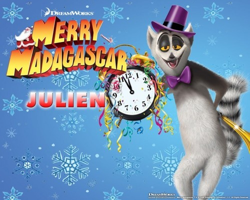 King Julien Merry Madagascar