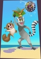 King Julien and Mort Painting - king-julien-official-club photo