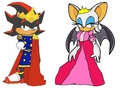 King Shadow and Queen Rogue