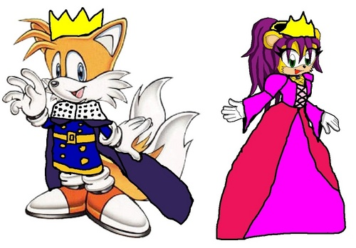 King Tails and Queen Mina