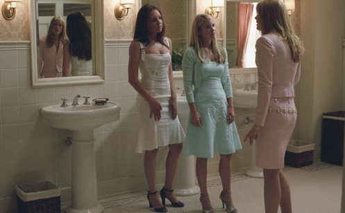 Laura, Amanda Bynes & Alex Breckenridge in She's the Man
