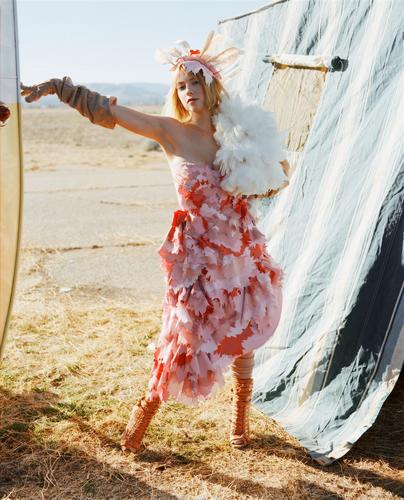 Laura Ramsey - Elle Photoshoot, 2008