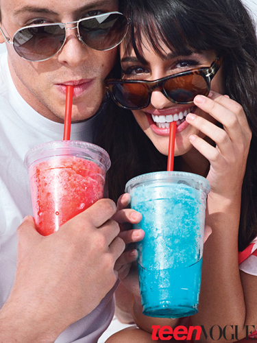 Lea&Cory {Teen Vogue} - lea-michele-and-cory-monteith Photo