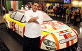 Life Size Nascar cake - cake-boss photo