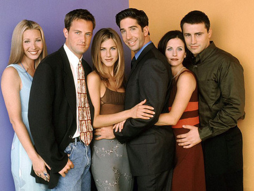 Lisa Kudrow, Matthew Perry, Jennifer Aniston, David Schwimmer, Courteney Cox and Matt LeBlanc
