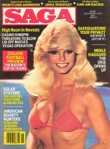 Loni Anderson, Cover of Saga Magazine
