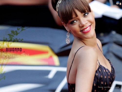Lovely Rihanna wolpeyper