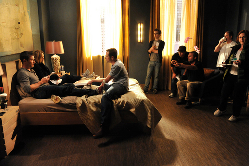 MATTHEW/LUKE/CALISTA- 5x09 Behind the Scenes